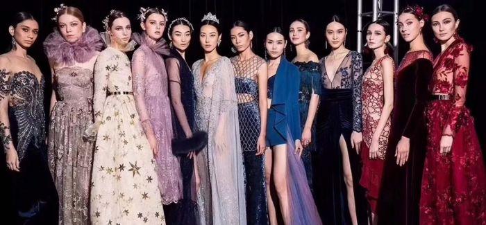 2018ss上海高定周 esee模特为高定设计传递梦想