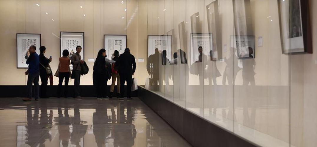 国博举行李可染巅峰十年的经典代表作品展