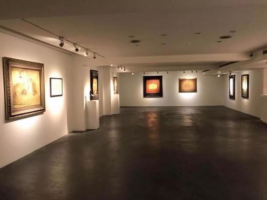 钟泗滨百岁冥诞台湾回顾展现场。图片:致谢亚洲艺术中心