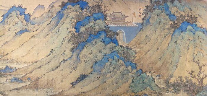 故宫博物院又获赠重要文物:明代《丝路山水地图》