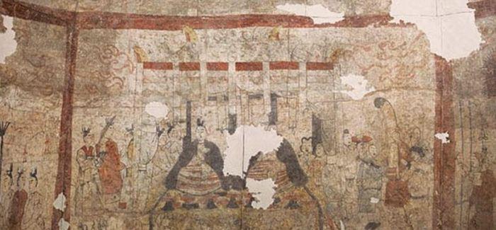 山西博物院藏古代壁画艺术展上博开幕