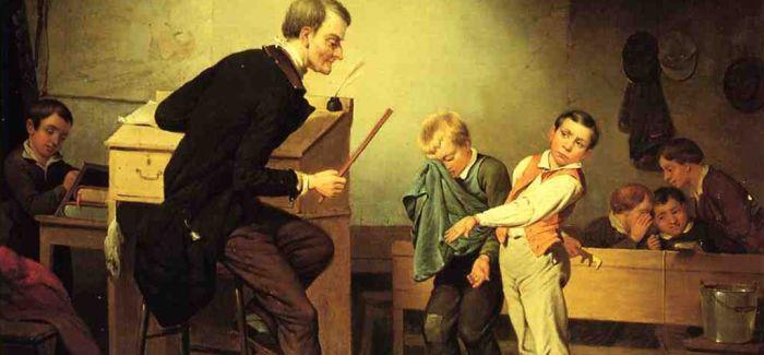 """古典油画里的""""虐童事件"""""""