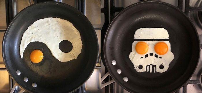 煎蛋也要有一颗有趣的心