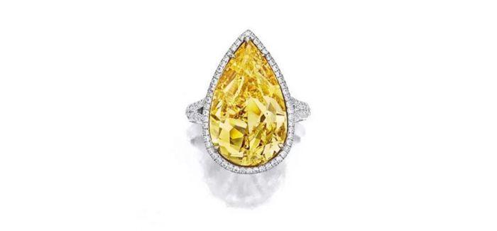 黄色钻石:散发出非凡的鲜艳色彩