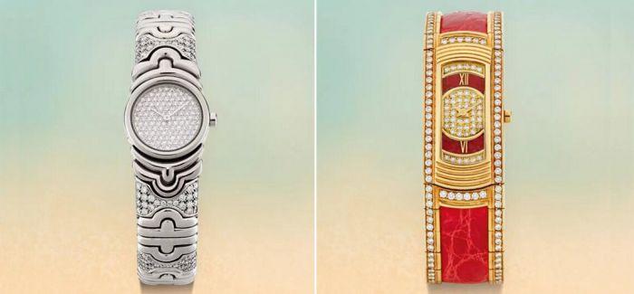 圣诞将至 苏富比呈献六款女士钻石腕表!