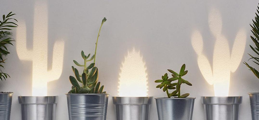 让灯具赋予灵魂的影子