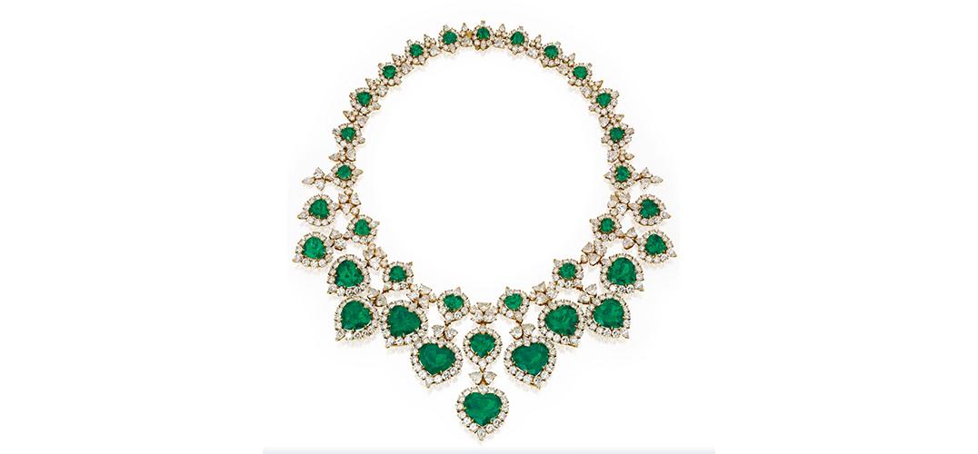 珠宝流行色:给冬天添抹绿
