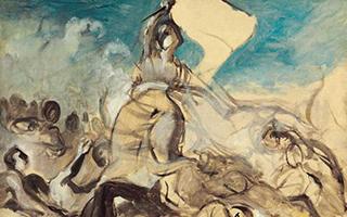 德拉克罗瓦名作唯一已知油画草图将亮相伦敦拍场