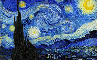 梵高的宇宙 可以在《星空》中永存