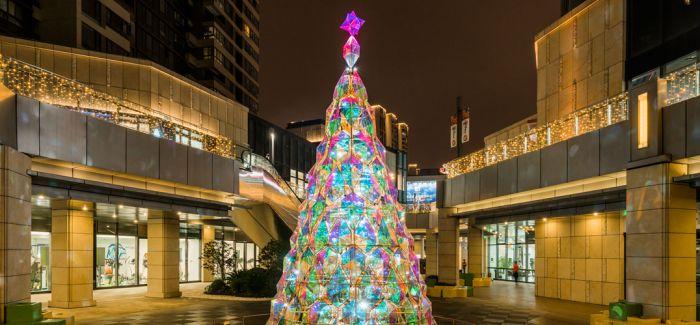 光影圣诞 瑞虹天地月亮湾开业一周年惊喜连城