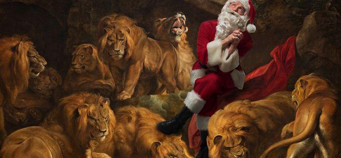 """""""淘气""""的圣诞老人"""