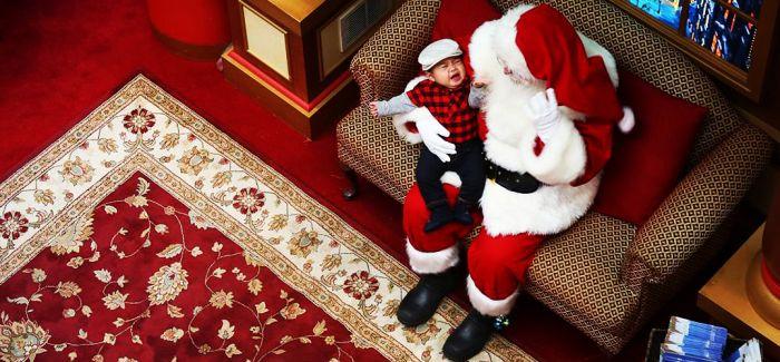 圣诞老人最不擅长:带娃