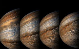原来梵高画的是木星表面!