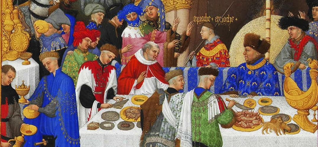 中世纪富豪的色彩美学