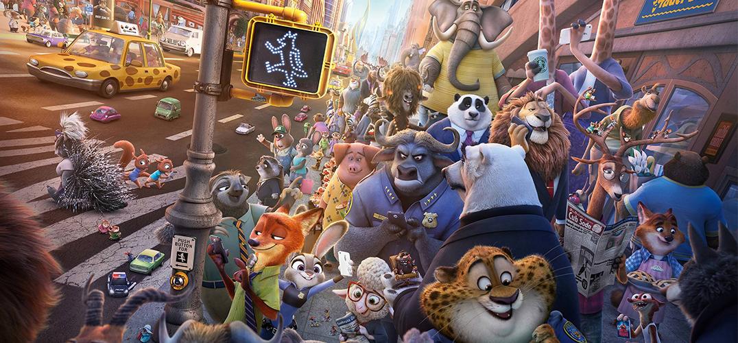 现实版的《疯狂动物城》