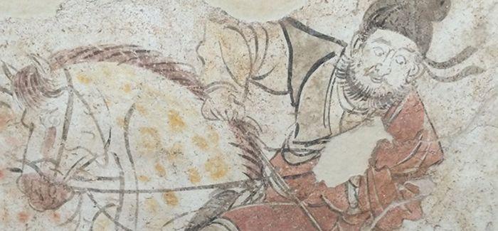 从四千年前的壁画看到唐代马球图