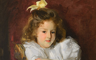 肖像画家萨金特油画入住美国圣路易斯美术馆