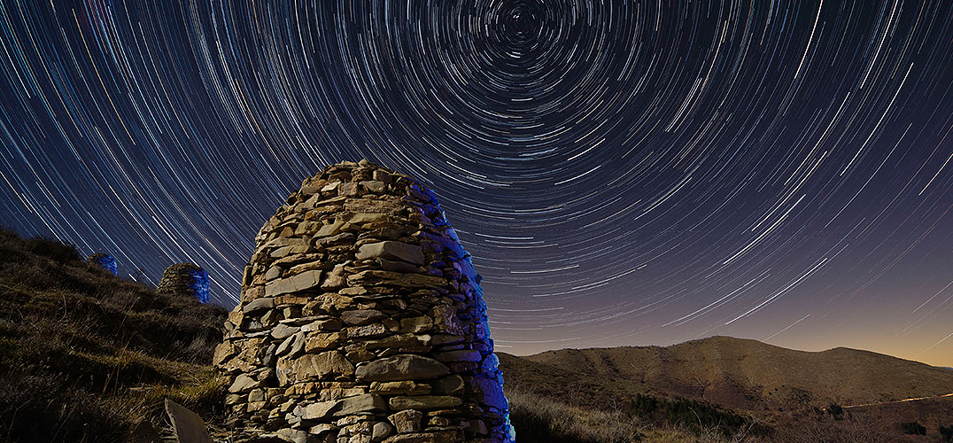 星空 夜景 疯狂的实验