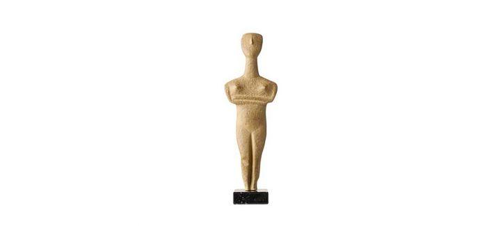 从基克拉迪文化早期雕塑到中国良渚文化玉琮