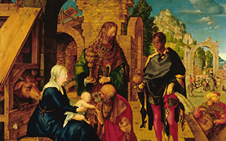 耶稣诞辰和飘雪曾给艺术家带来灵感