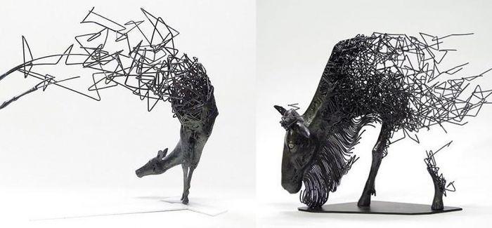 消失的雕塑