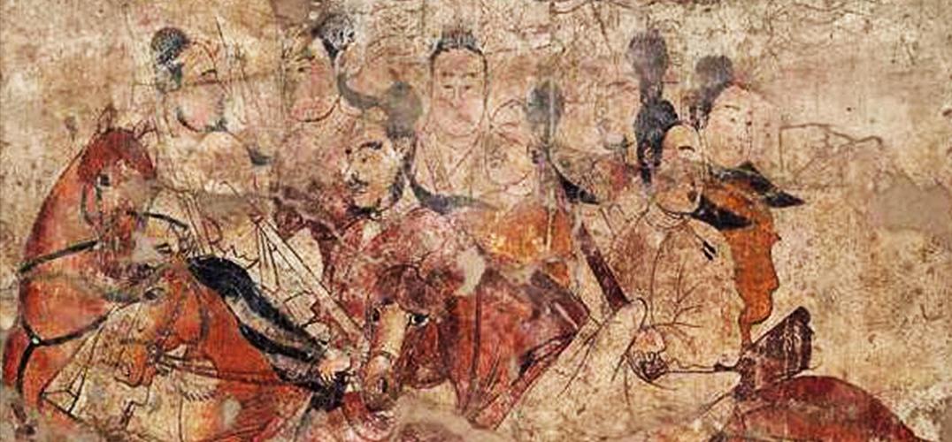 太原北齐徐显秀壁画墓的发掘与保护