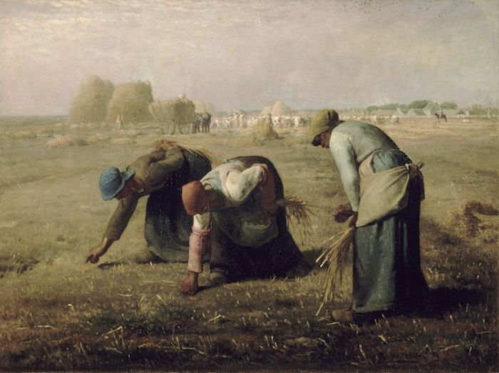 Jean-François-Millet-Gleaners-realism-2