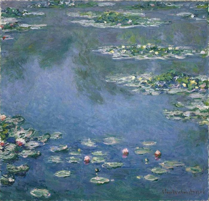 Claude-Monet-Water-Lilies-1906