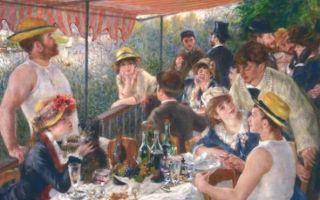 """从""""船上的午宴""""看雷诺阿和他的朋友们"""