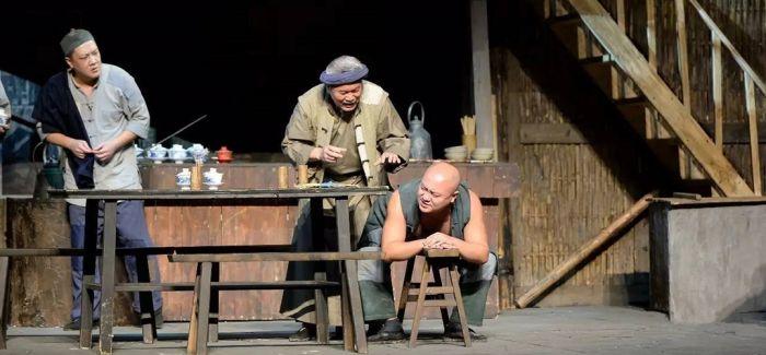 原创方言话剧《河街茶馆》 植入的是地道的重庆肌理