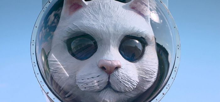 外太空猫咪的时尚感