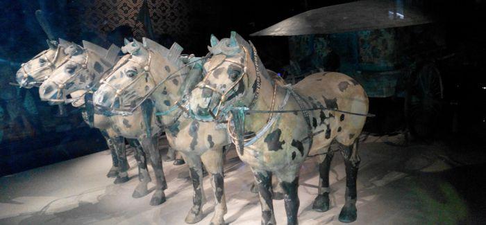 秦始皇帝陵铜车马博物馆开工 全面阐释秦代车马文化