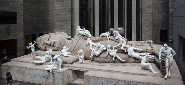 维多利亚国立美术馆三年展上的创意文化