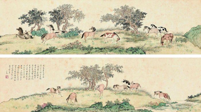 傅心畲 1960年作 骏马图 RMB  6303360