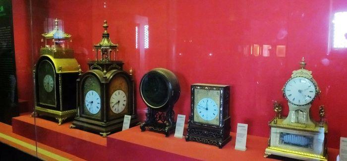 百余年前的中外钟表 领略故宫里的精湛技艺
