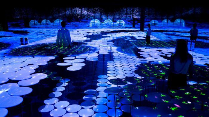 2015米兰世博会日本馆互动装置《共存》