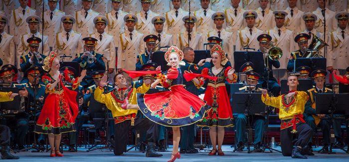 俄罗斯亚历山大红旗歌舞团重访国家大剧院