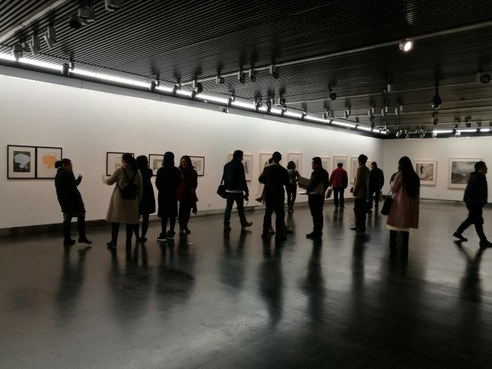 6 水印版画作品文献展, 作品展单元现场