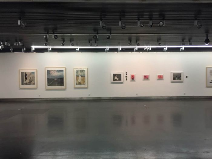 7 水印版画作品文献展,作品展单元现场