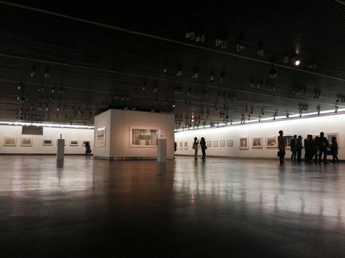5 水印版画作品文献展, 作品展单元现场