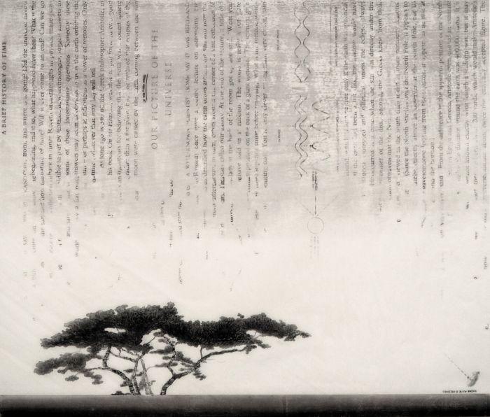 朱  燕 《心·习》 80X94cm 水印版画2017
