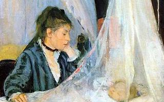 """""""纯洁的天才"""":印象派女画家贝尔特·莫里索"""