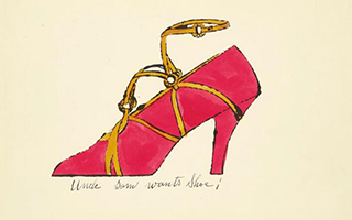 古怪还是商业?看安迪·沃霍尔设计的女鞋