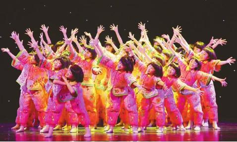 舞蹈《中国梦娃娃》  北京市海淀区实验小学