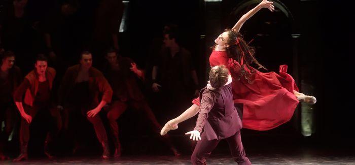 北京天桥剧场首演芭蕾舞剧《卡拉马佐夫兄弟》