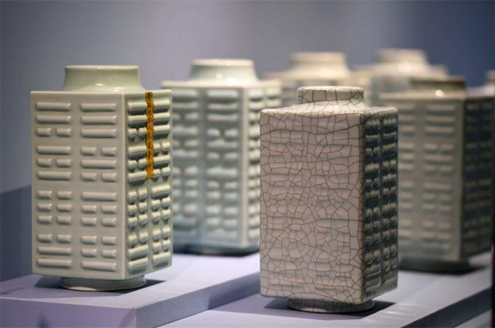 哥窑瓷器展亮相故宫博物院