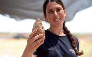 以色列一公路旁发现约 50 万年的罕见遗址