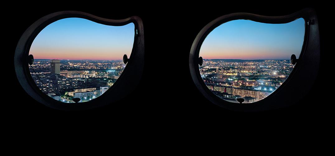 舷窗外的世界