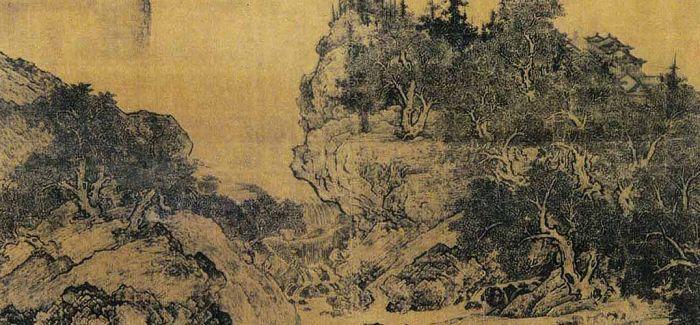 中国画的表现力与欧洲近代艺术