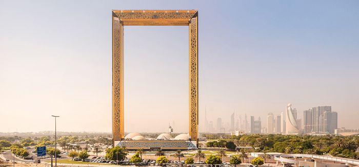 """""""迪拜之框"""":一座超现实地标"""